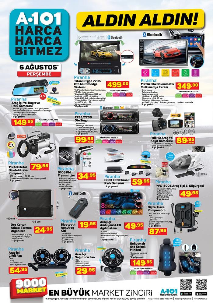 A101 6-13 Ağustos indirim aktüel broşürü yayımlandı..! SEG buzdolabı, Ultra HD smart led tv, ve daha fazlası
