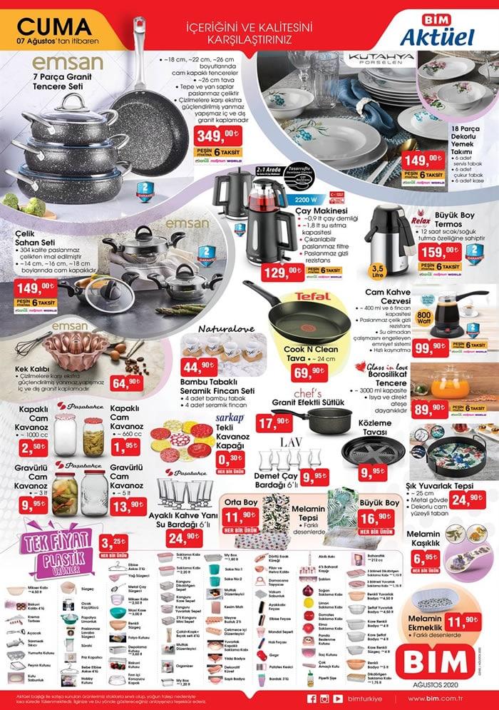 Bim Market 8-14 Ağustos indirim broşürü haftalık aktüel katalog..! Dijitsu televizyon, Philips Epilatör ve daha fazlası