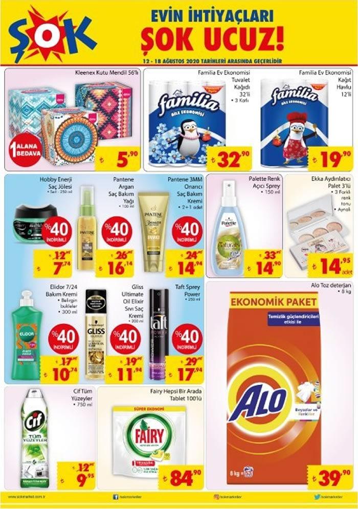 ŞOK Market 12 – 19 Ağustos indirim broşürü haftalık aktüel katalog..! Kivi Blender Seti, Çok Amaçlı Dolao, Sinbo Tost Makinesi ve çok daha fazlası..!