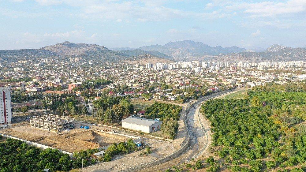 Kozan'da Taşkın Riski Azaldı