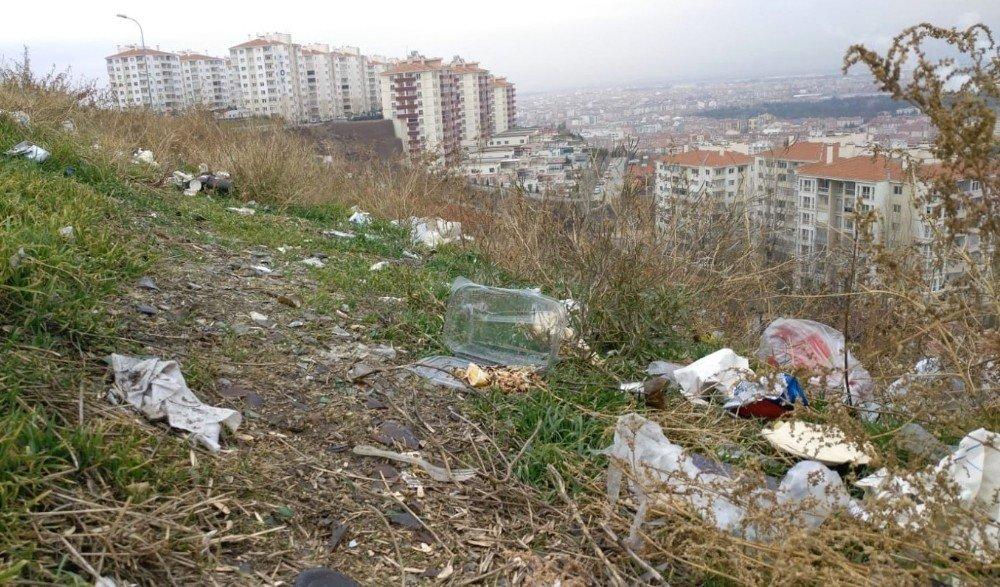 Korona Sürecinde Eskişehir'in Tehlike Saçan Çöp Sorunu Havadan Görüntülendi