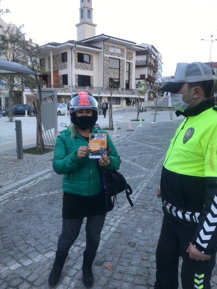 Datça'da Yeni Yıl Öncesi Denetimler Arttı