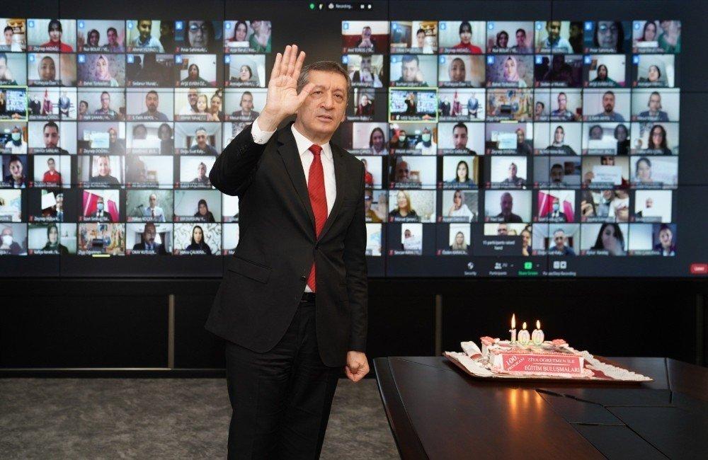 Ziya Öğretmen İle Eğitim Buluşmaları'nın 100.'sü Kayseri'de Yapıldı