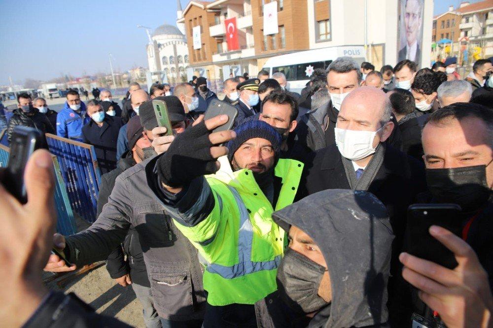 İ̇çişleri Bakanı Süleyman Soylu, 8 Bininci Deprem Konut Teslim Töreni İçin Elazığ'da