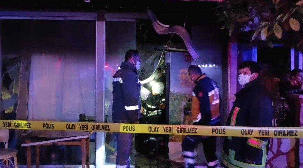 Tekstil Mağazasında Anne-oğlu Yemek Yaparken Düdüklü Tencere Patladı, Yangın Çıktı; 1 Ölü, 1 Yaralı