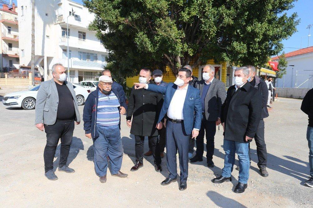 Kepez Belediye Başkanı Tütüncü, Taksici Esnafı İle Buluştu