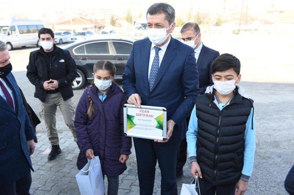 Milli Eğitim Bakanı Ziya Selçuk, Çorum'da Aşılama Sürecini Başlatıyor