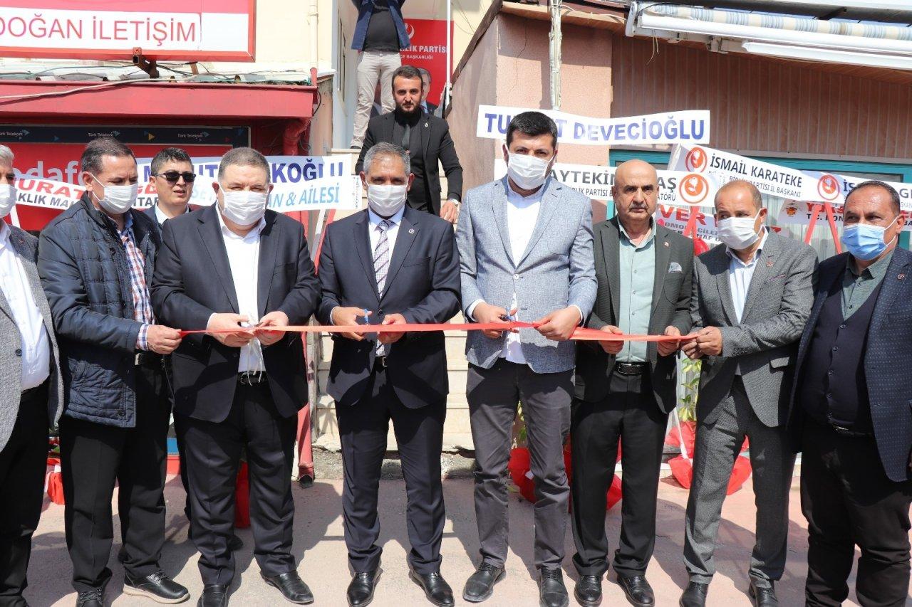 Bbp Denizli Honaz İ̇lçe Başkanlığı Binası Törenle Açıldı