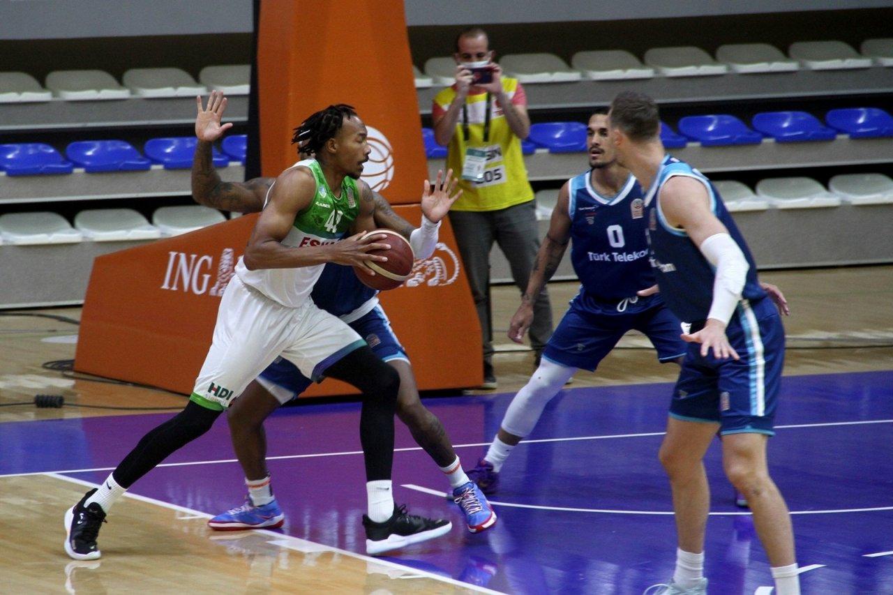 Ing Basketbol Süper Ligi: Lokman Hekim Fethiye Belediyespor: 82 - Türk Telekom: 81