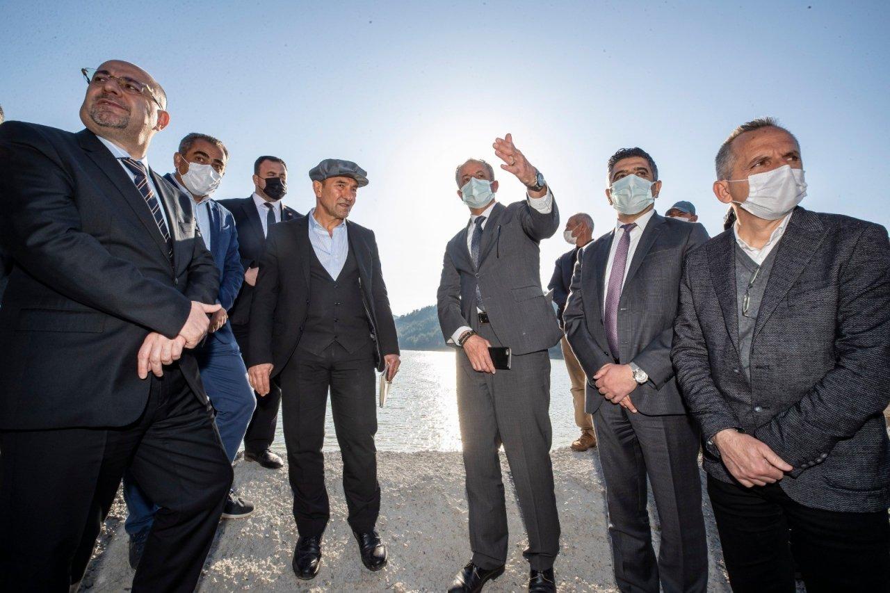 Başkan Soyer, Selden Etkilenen Balabandere Göletinde İnceleme Yaptı