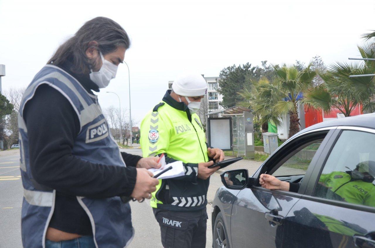 İ̇zin Belgesi Olmayan Sürücülere Ceza Yağdı