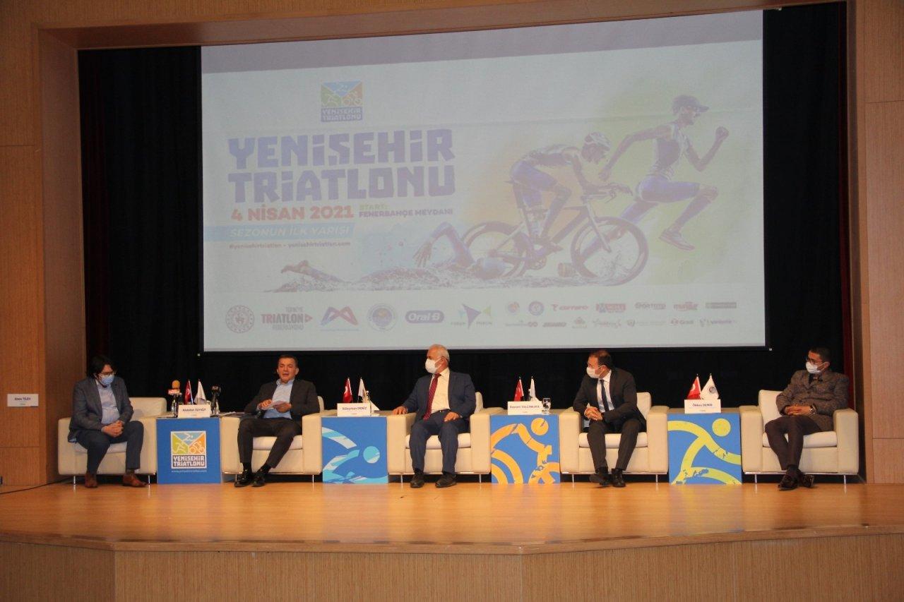 2. Yenişehir Triatlonu Yarın Gerçekleştiriliyor