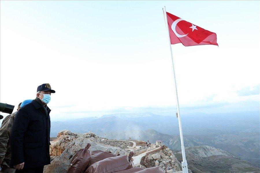 Akar Ve Tsk Komuta Kademesi Geceyi Şırnak'ta Geçirdi, Namaz Dağı'nda Terörle Mücadele Tedbirlerini İnceledi