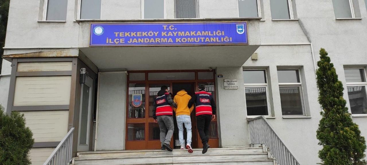 Hırsızlık Şüphelisi Jandarma Takibinden Kaçamadı