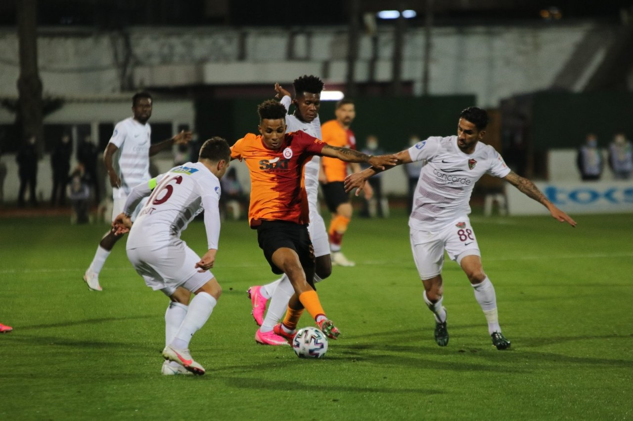 Süper Lig: Hatayspor: 3 - Galatasaray: 0 (maç Sonucu)