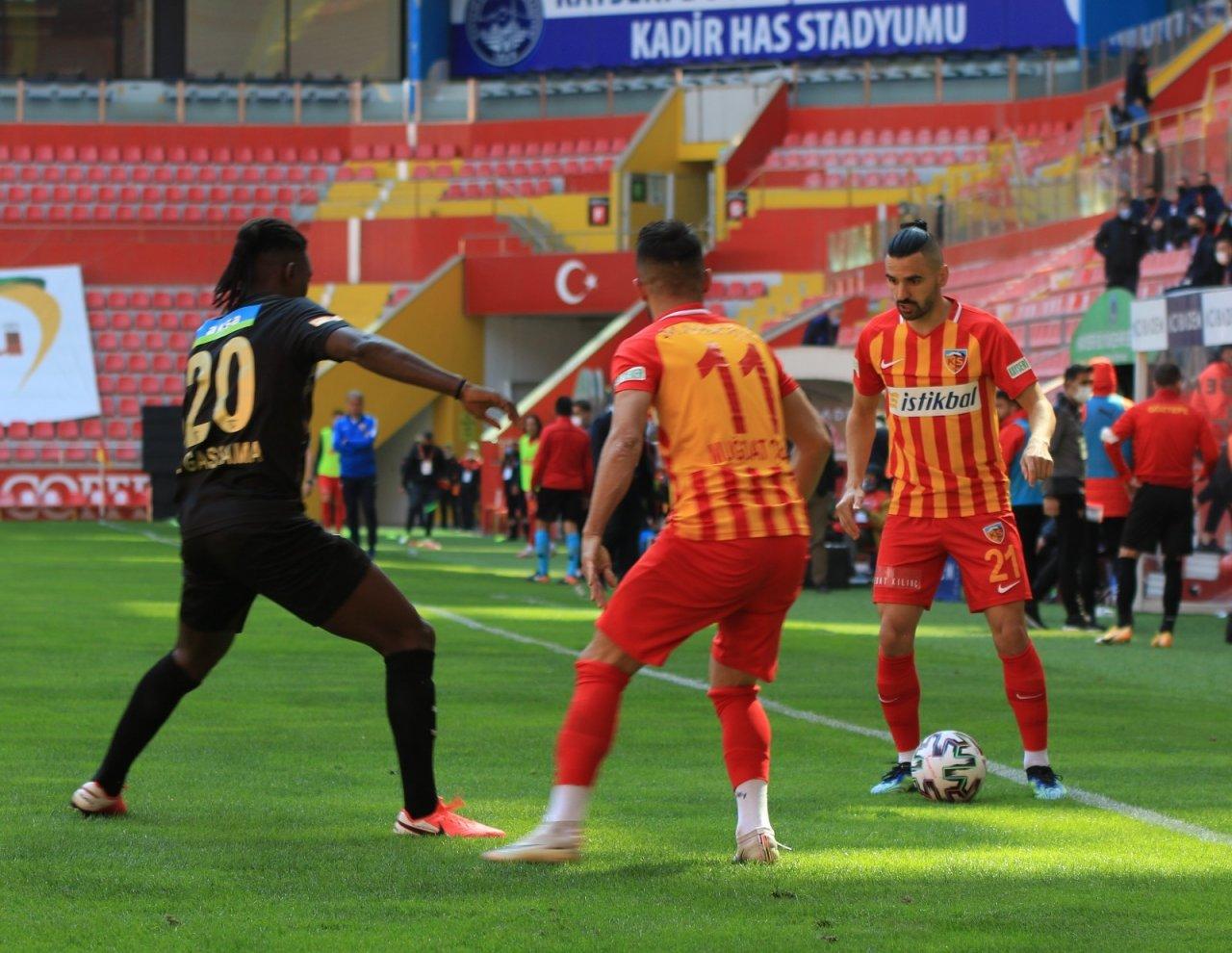 Süper Lig: Kayserispor: 1 - Göztepe: 1 (maç Sonucu)