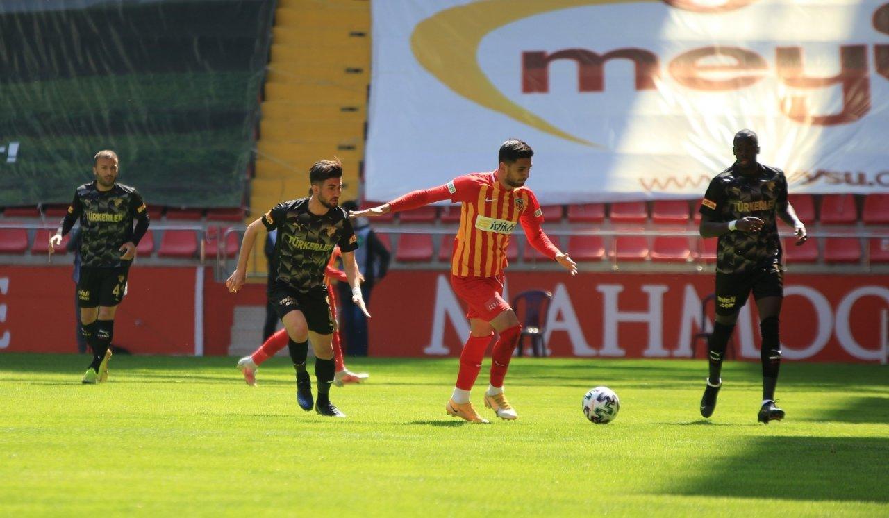 Süper Lig: Kayserispor: 1 - Göztepe: 0 (i̇lk Yarı)