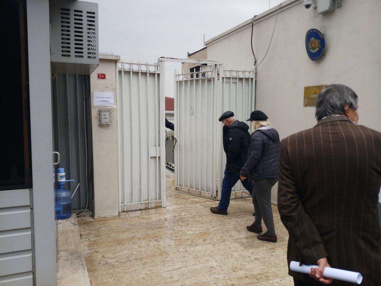 Bulgar Göçmenleri Bulgaristan Başkonsolosluğu'nda Sandık Başına Gitti