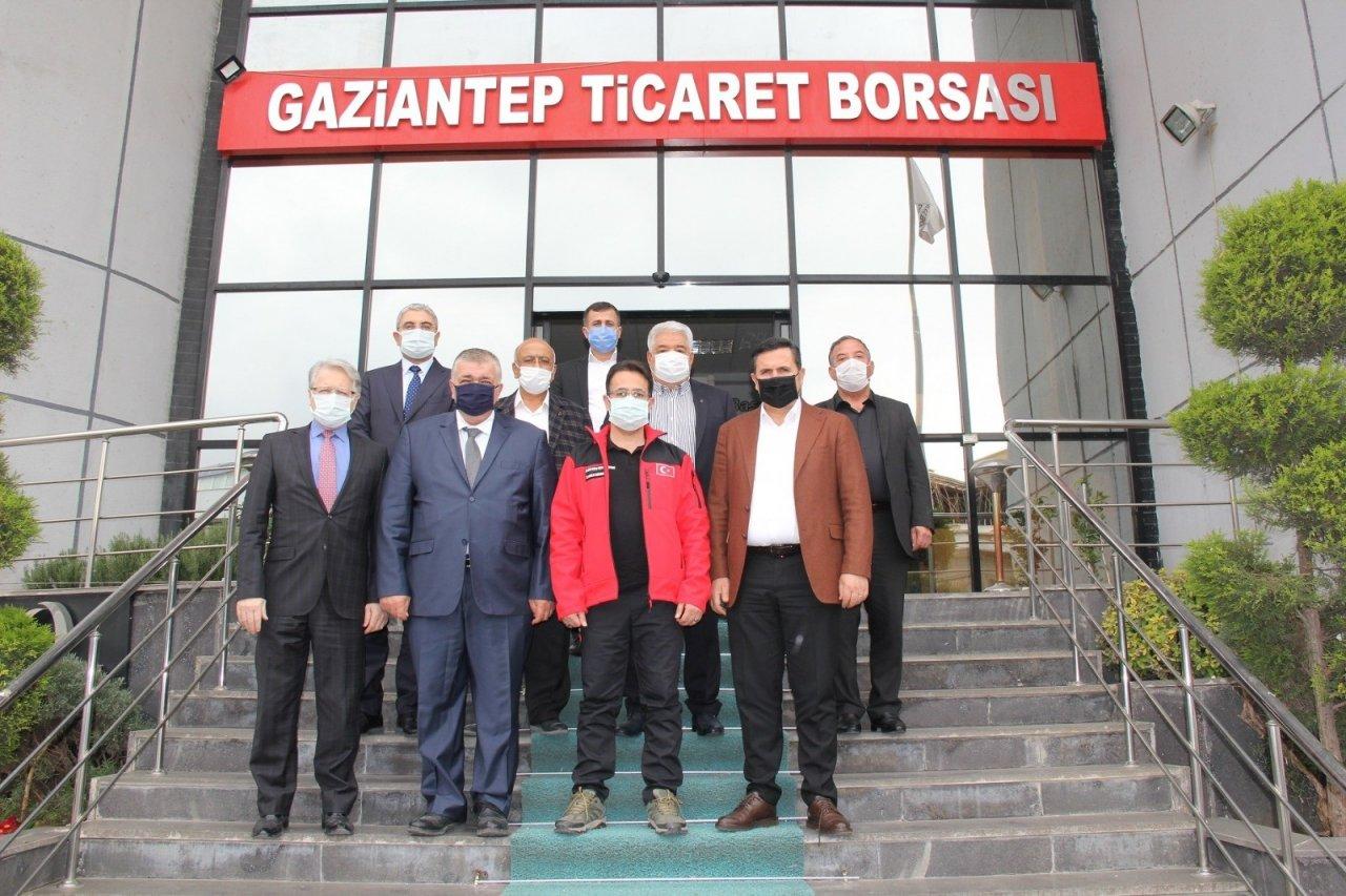 İ̇l Sağlık Müdürü Tiryaki'den, Gtb'ye Ziyaret