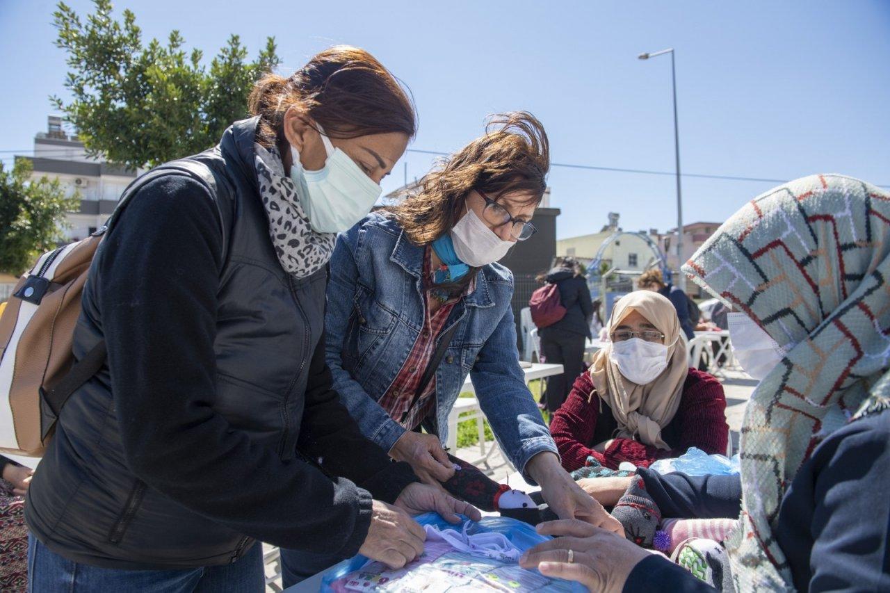 Mersin'de 'evimiz Atölye' Projesi Kadınlara Güç Verdi