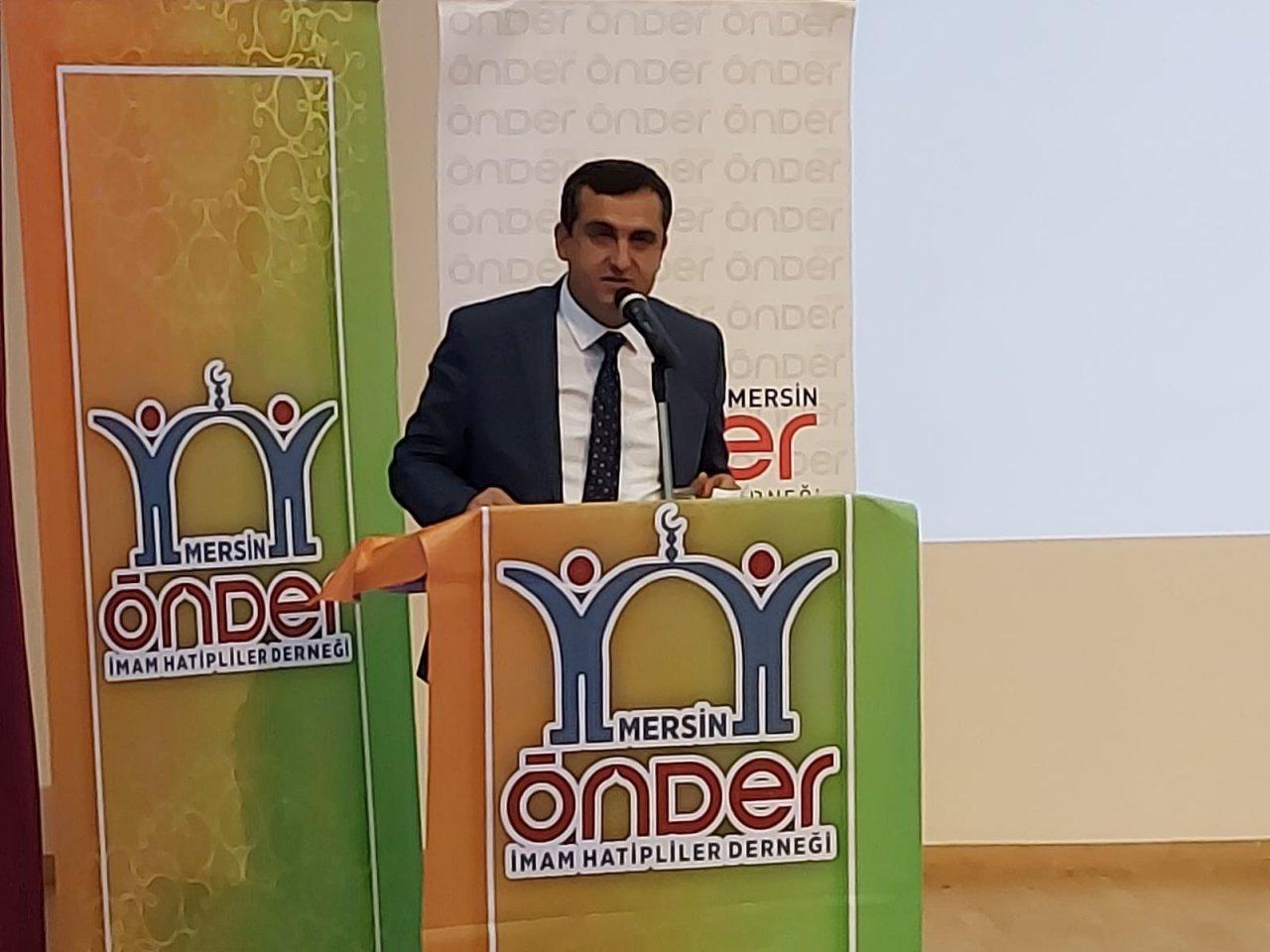 Mersin Önder İ̇mam Hatipliler Derneğinde Yeni Başkan Yıldızbakan