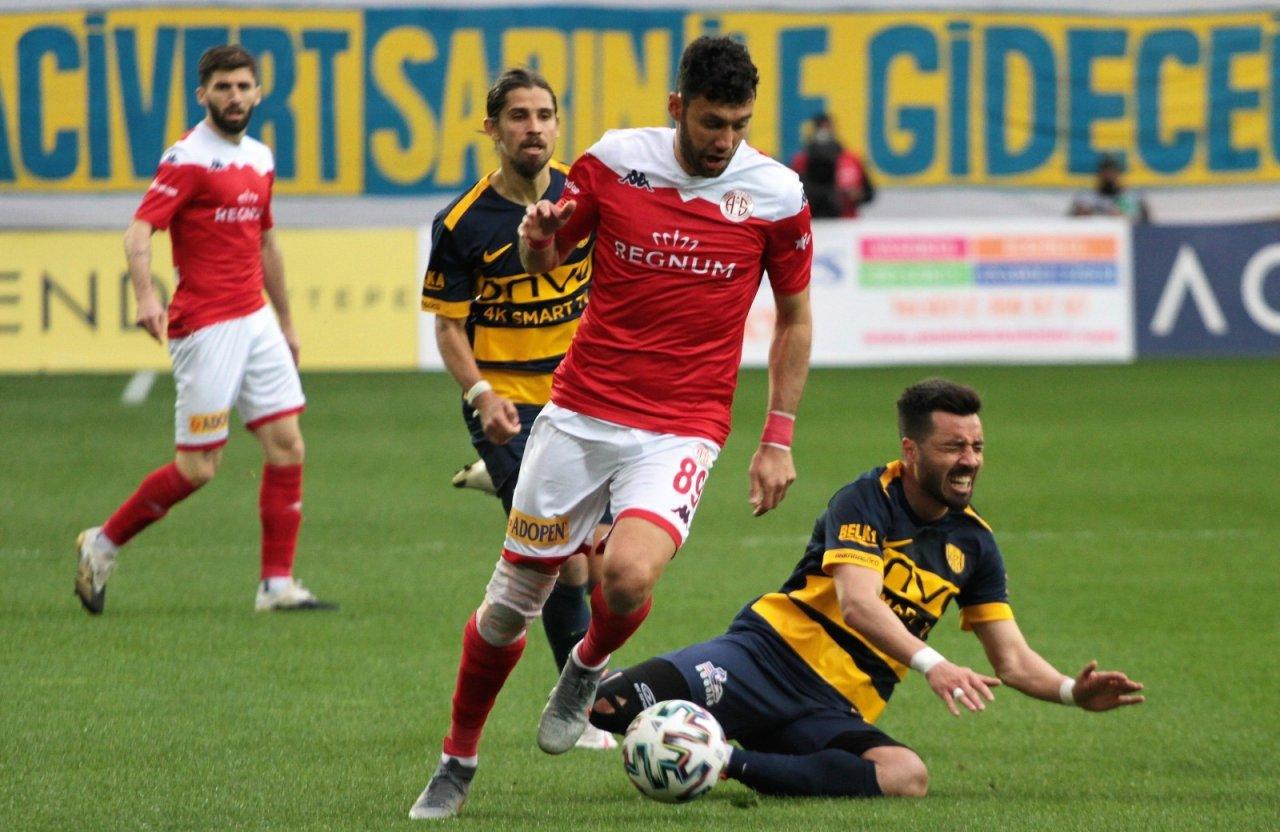 Süper Lig: Mke Ankaragücü:0 Fraport Tav Antalyaspor:0 (i̇lk Yarı)
