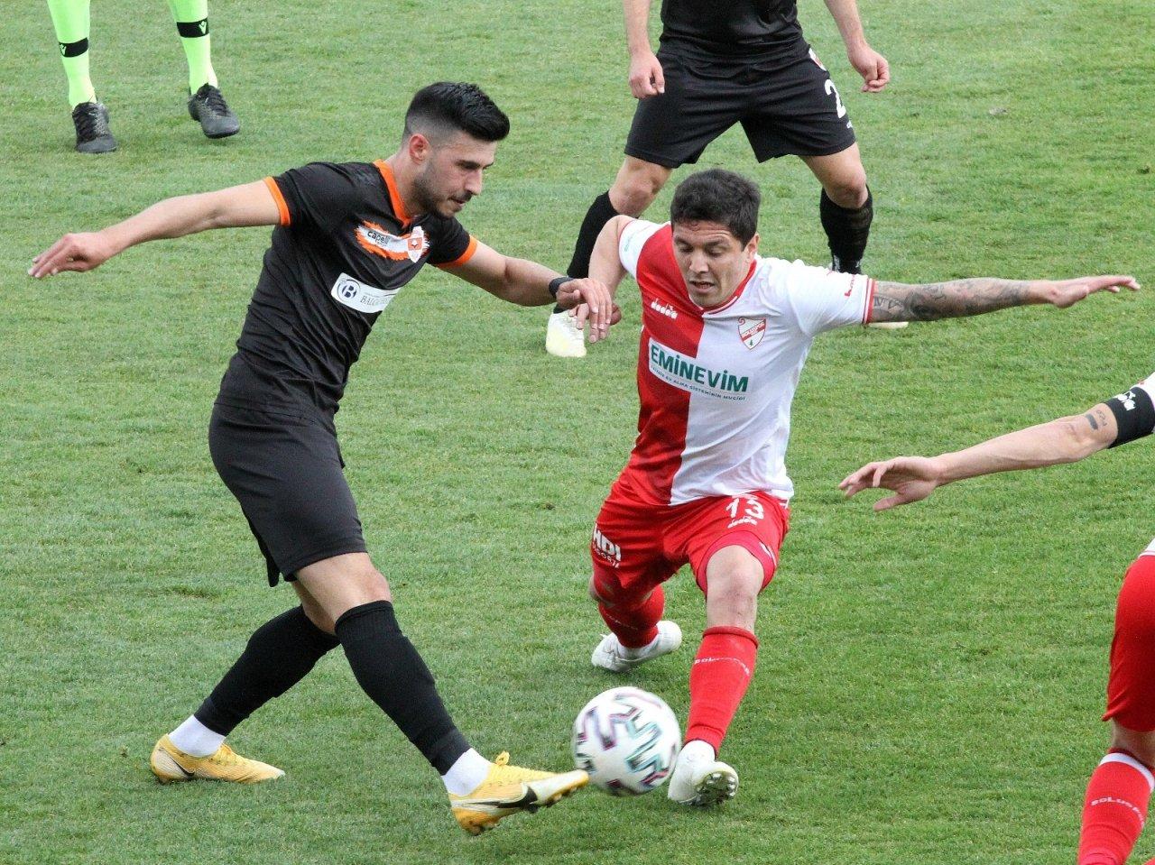 Tff 1. Lig: Boluspor: 1 - Adanaspor: 2