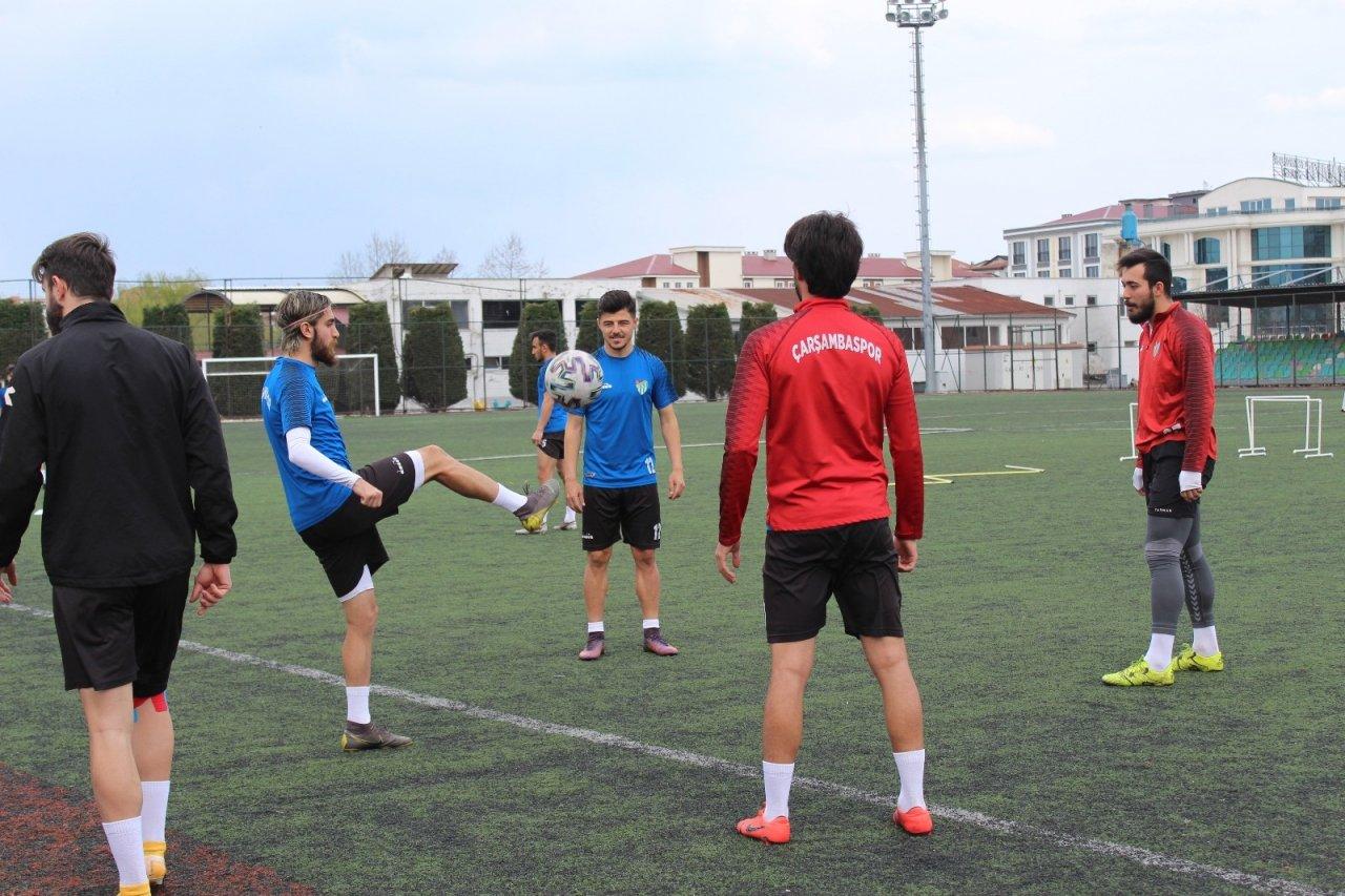 Çarşambaspor Play-off İçin Çalışıyor