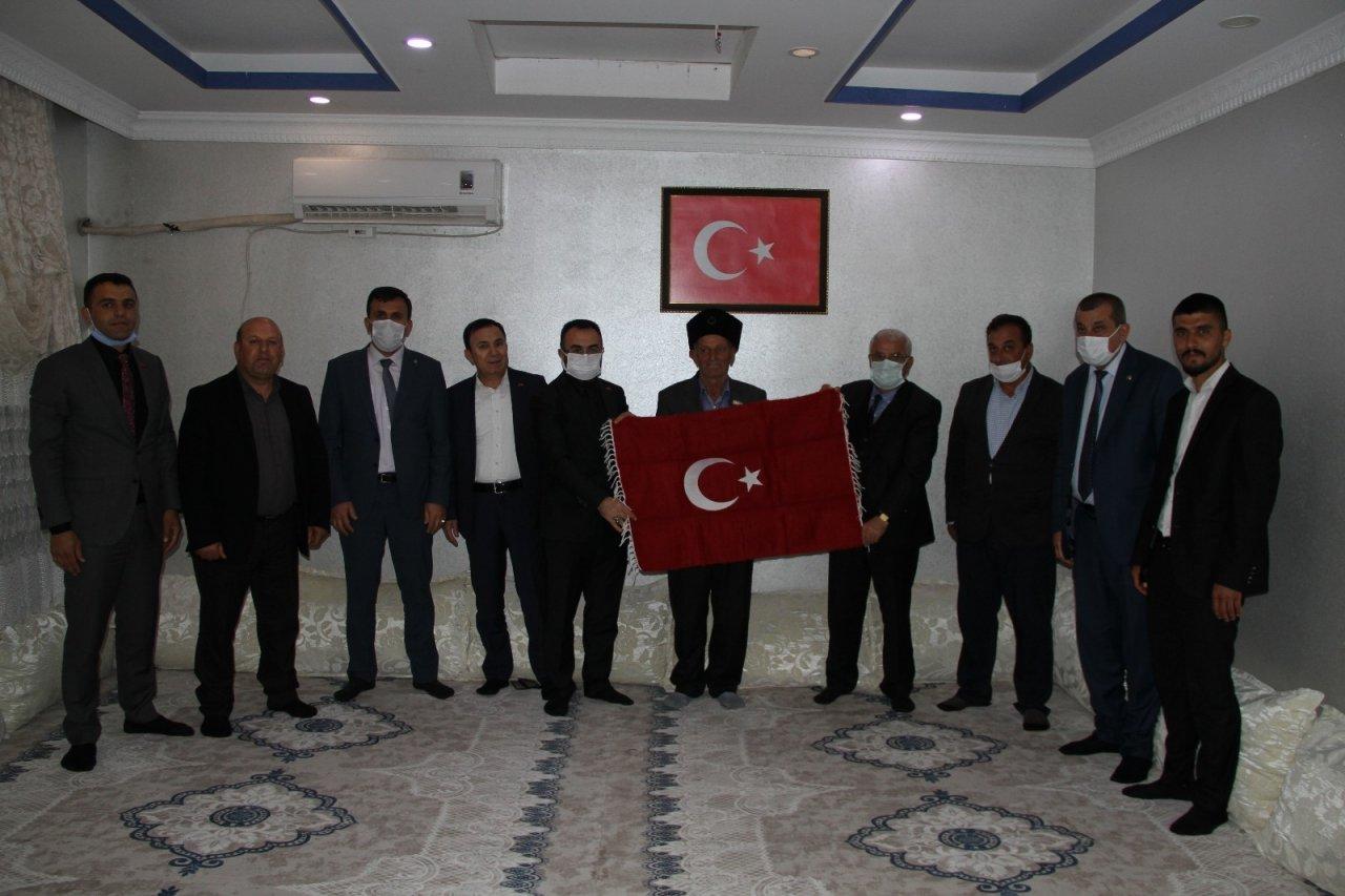 Tügşav Genel Başkanı Aylar, Şırnak'ta Şehit Yakınları Ve Gazilerle Bir Araya Geldi