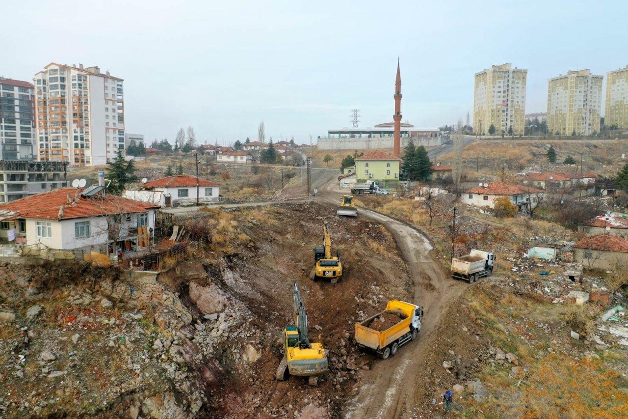 Altındağ'a 2 Yılda 38 Kilometre Yeni Yol