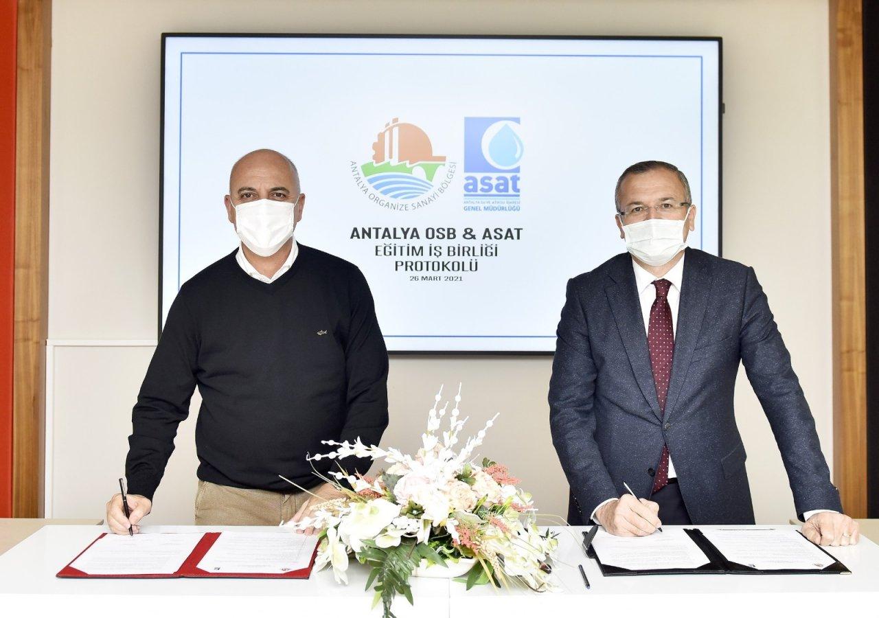 Antalya Osb İle Asat Arasında Eğitim İşbirliği