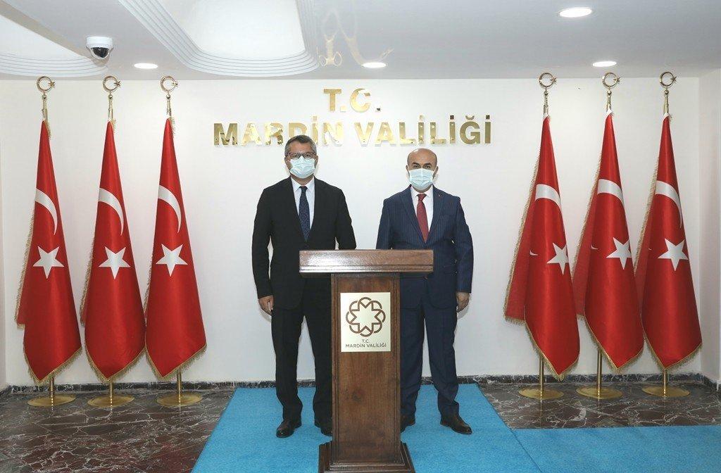 Azerbaycan Ankara Büyükelçisi Hazar İ̇brahim, Vali Demirtaş İle Bir Araya Geldi
