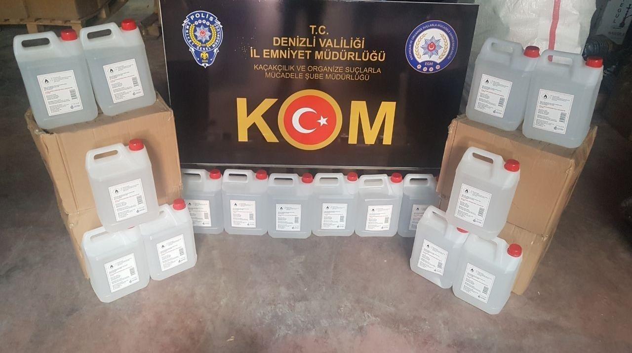Denizli'de Kaçakçılara 4 Ayrı Operasyon: 5 Gözaltı