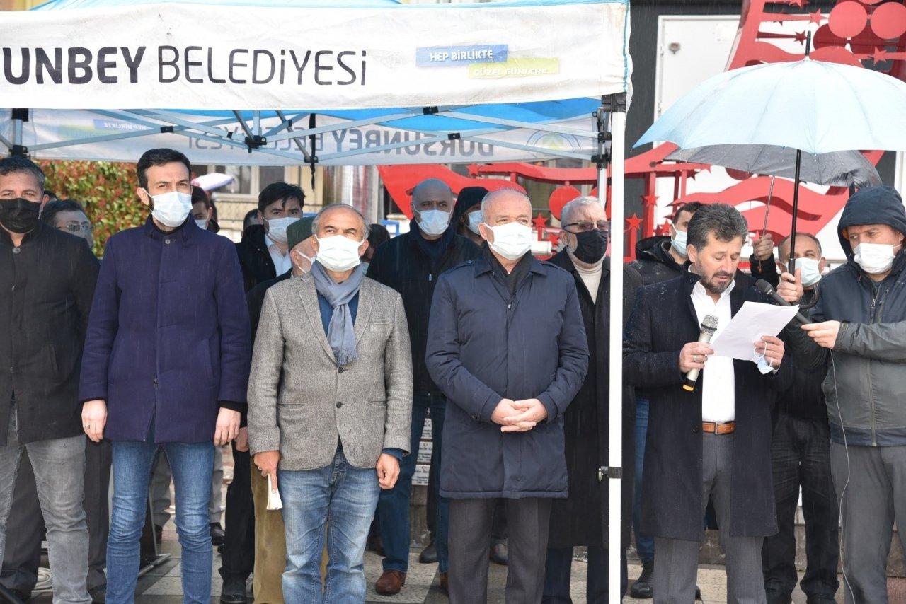 Dursunbey'de Stk'lar Darbe İ̇malı Bildiriyi Kınadı