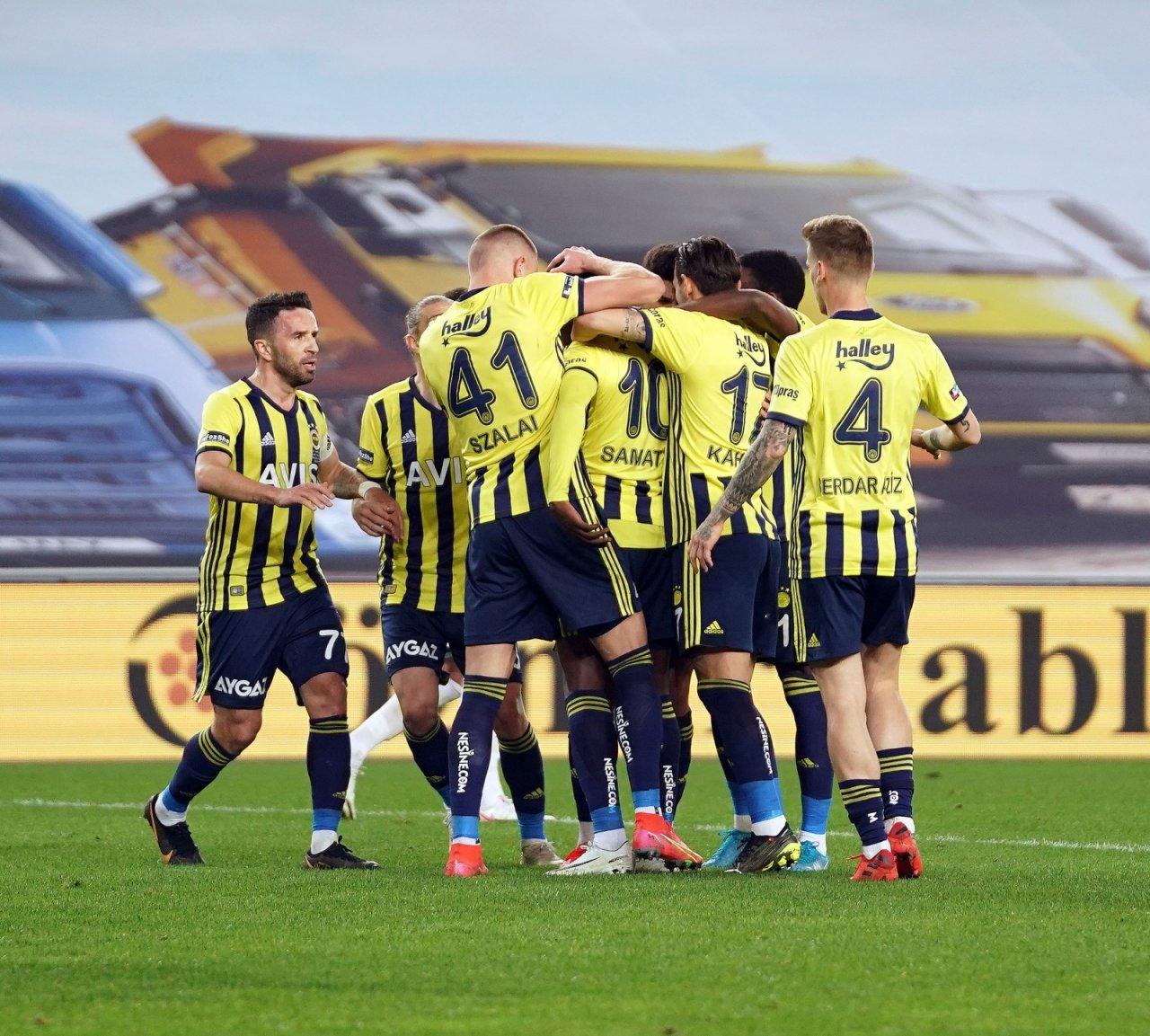 Fenerbahçe'den İç Sahada 65 Gün Sonra Galibiyet