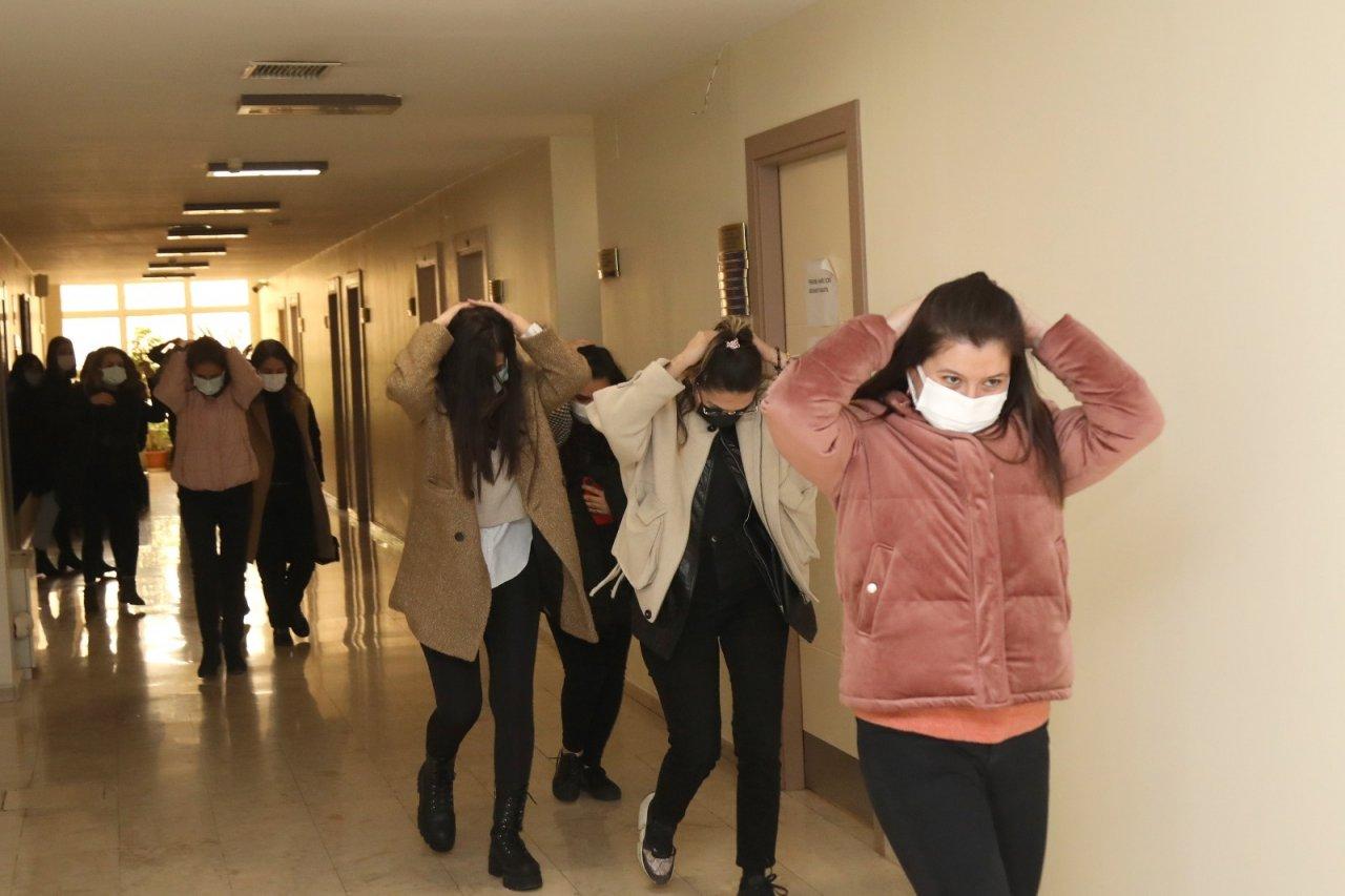 Gaziantep Büyükşehir'den Gerçeği Aratmayan Deprem Tatbikatı