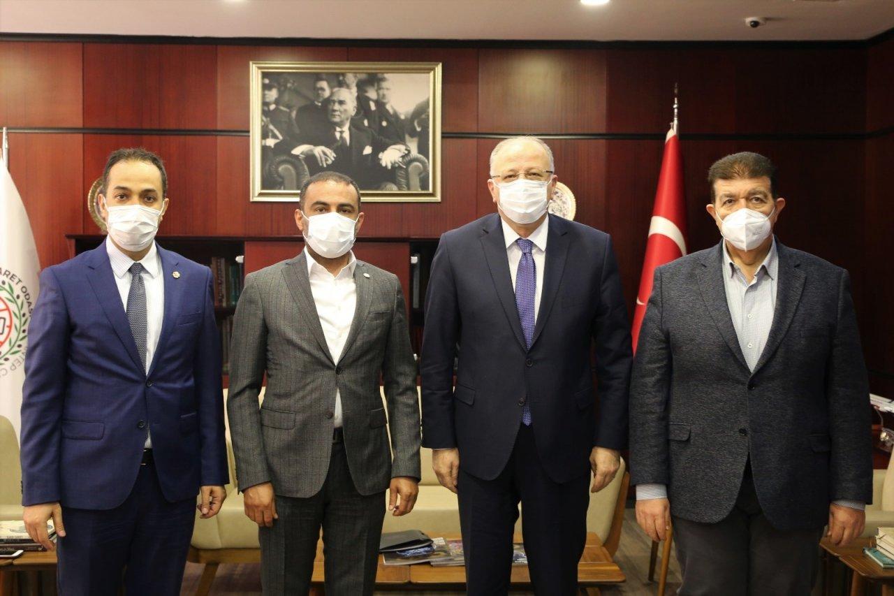 Milletvekili Koçer'den Gto'ya Ziyaret