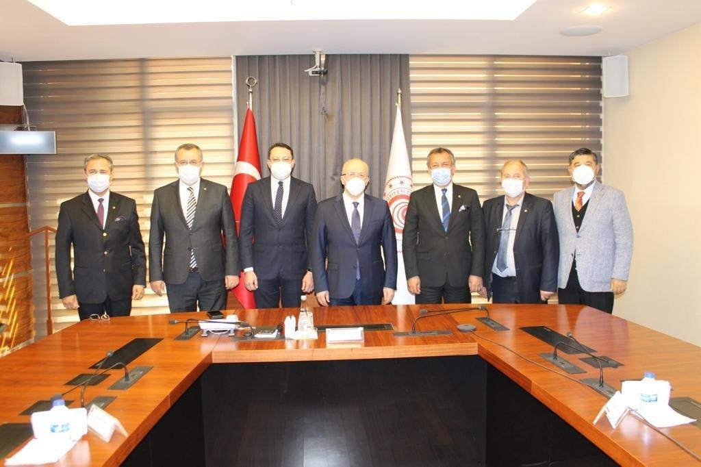 Marmaris Ticaret Odası Üyeleri Taleplerini Ankara'ya İletti