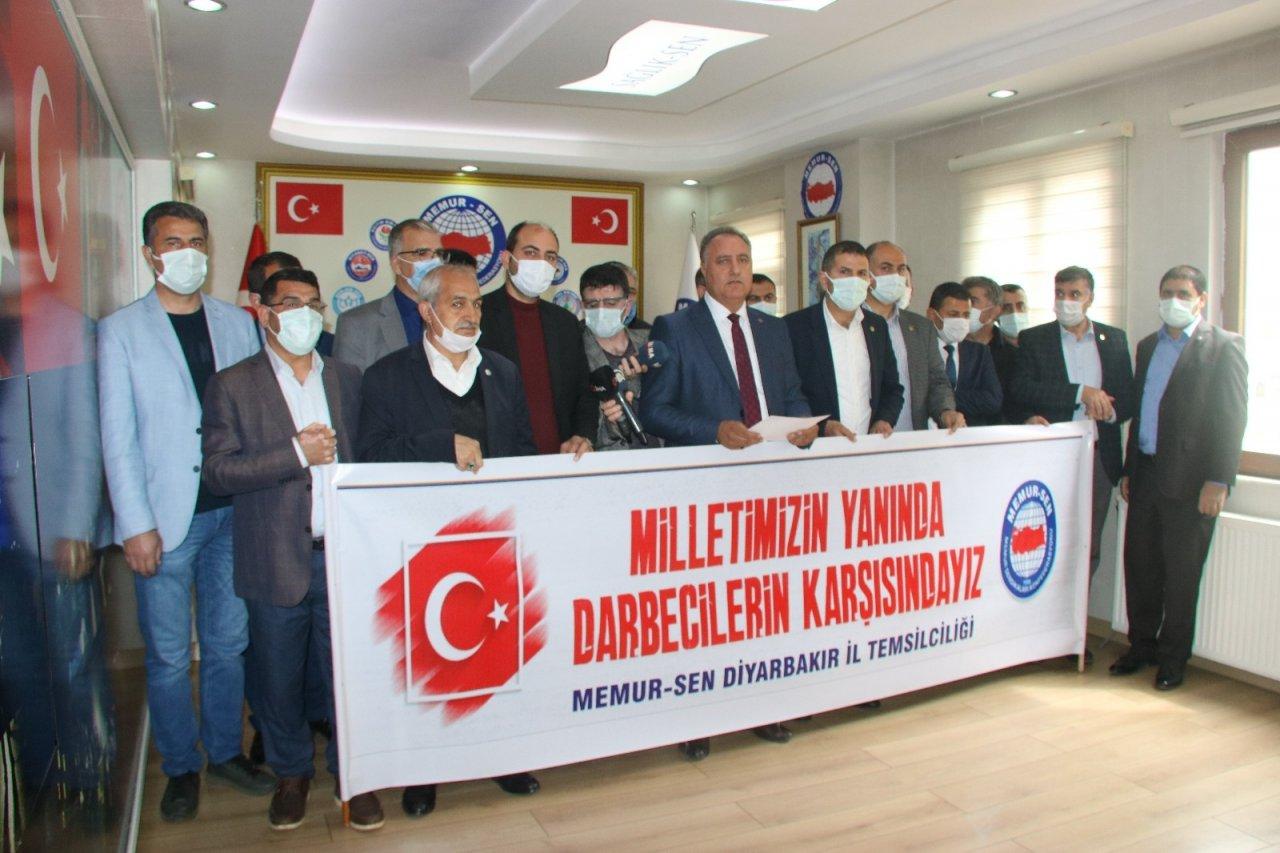 Memur-sen Diyarbakır İl Yönetiminden Emekli Amirallerin Bildirisine Sert Tepki