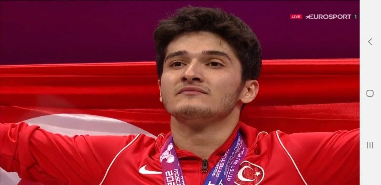 Muhammed Furkan Özbek, Halterde Avrupa Şampiyonu