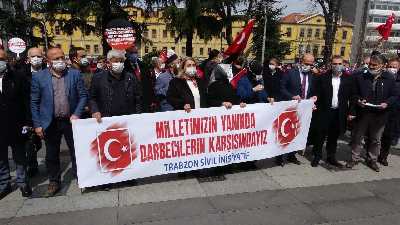 Trabzon'dan 104 Amiralin Bildirisine Tepki
