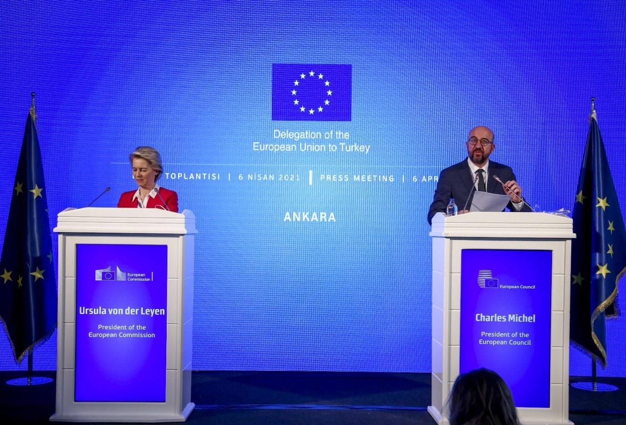 """Ab Komisyonu Başkanı Leyen: """"türkiye, Aslında Yapıcı Bir Şekilde Tekrar İlişki Kurmak İstediğini Gösterdi"""""""