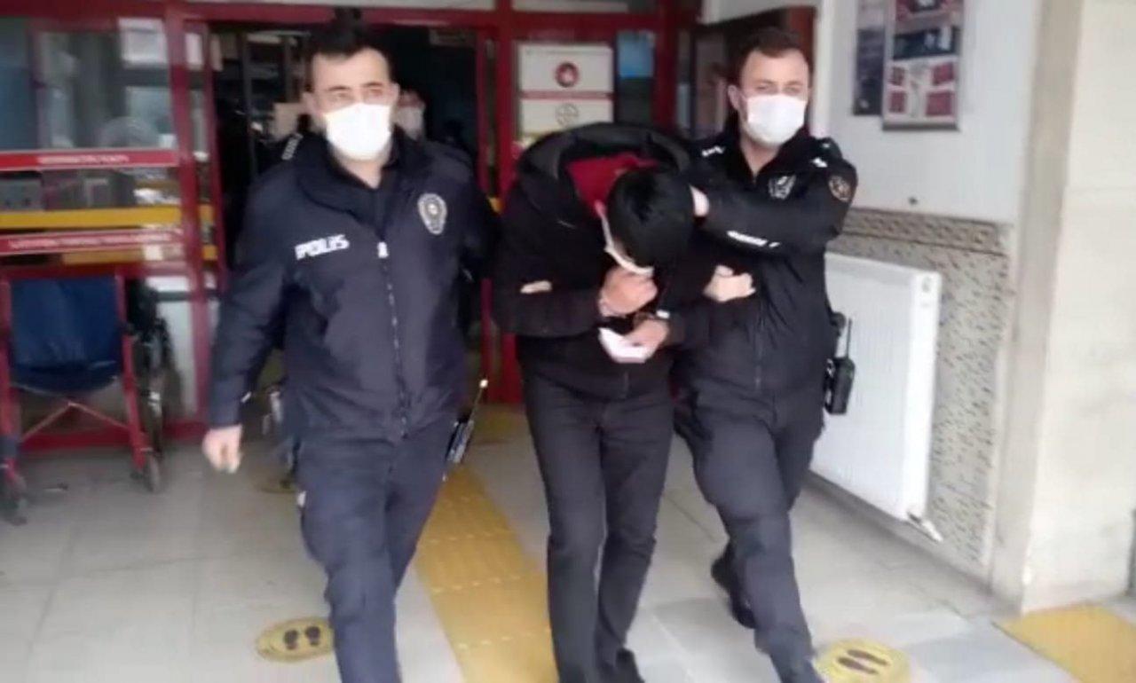Hem Çevreye Rahatsızlık Verdiler Hem De Polise Hakaret Ettiler