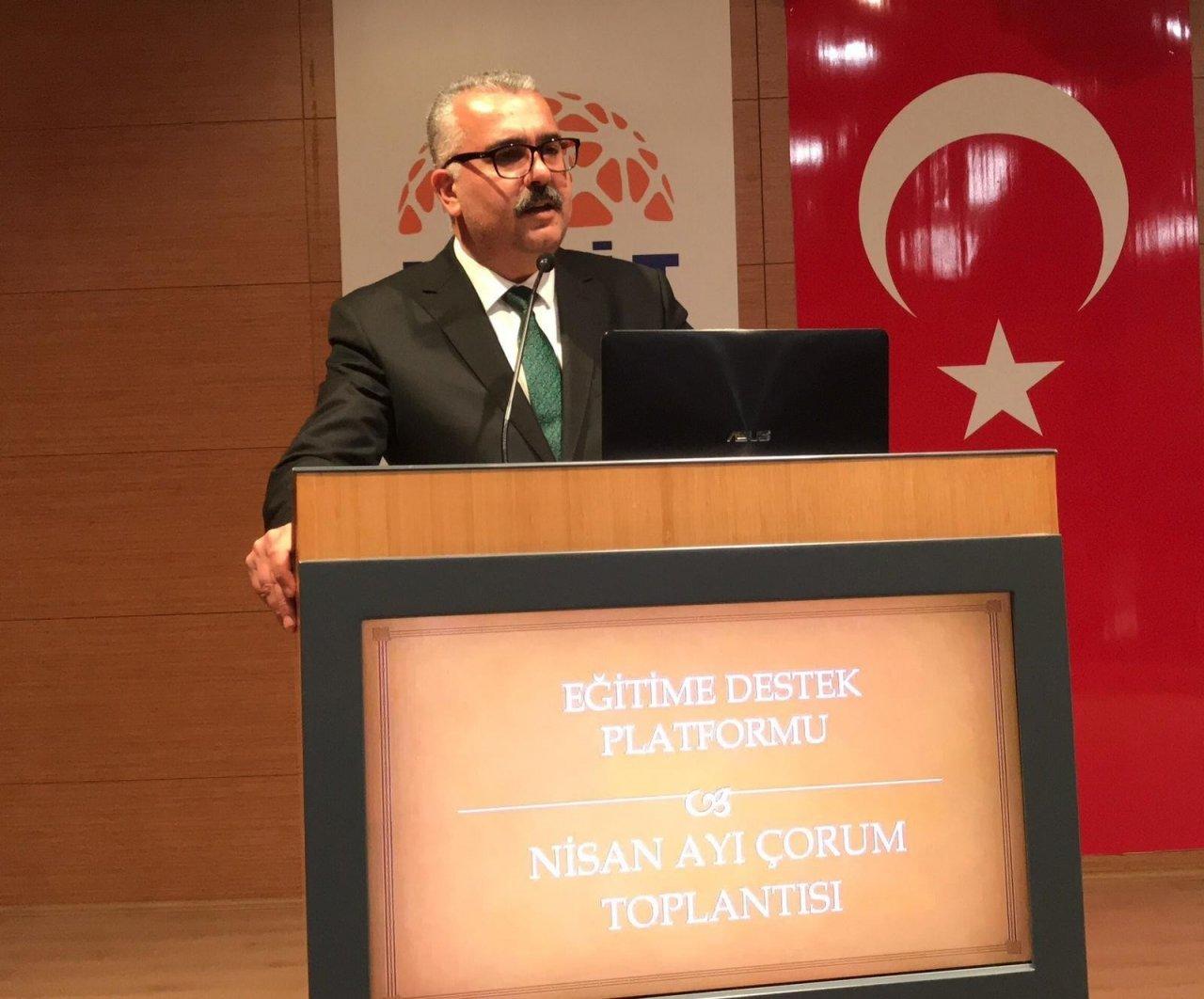 """Ak Parti Çorum İ̇l Başkanı Yusuf Ahlatcı: """"bu Millete Parmak Sallamak Hiç Kimsenin Haddine Değildir"""""""
