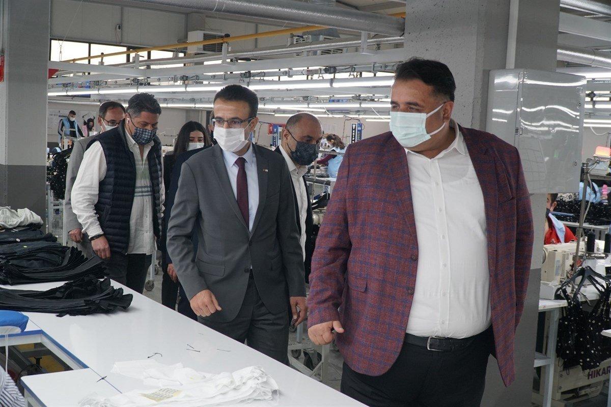 Milletvekili Kaya Osmancık Osb'yi Ziyaret Etti