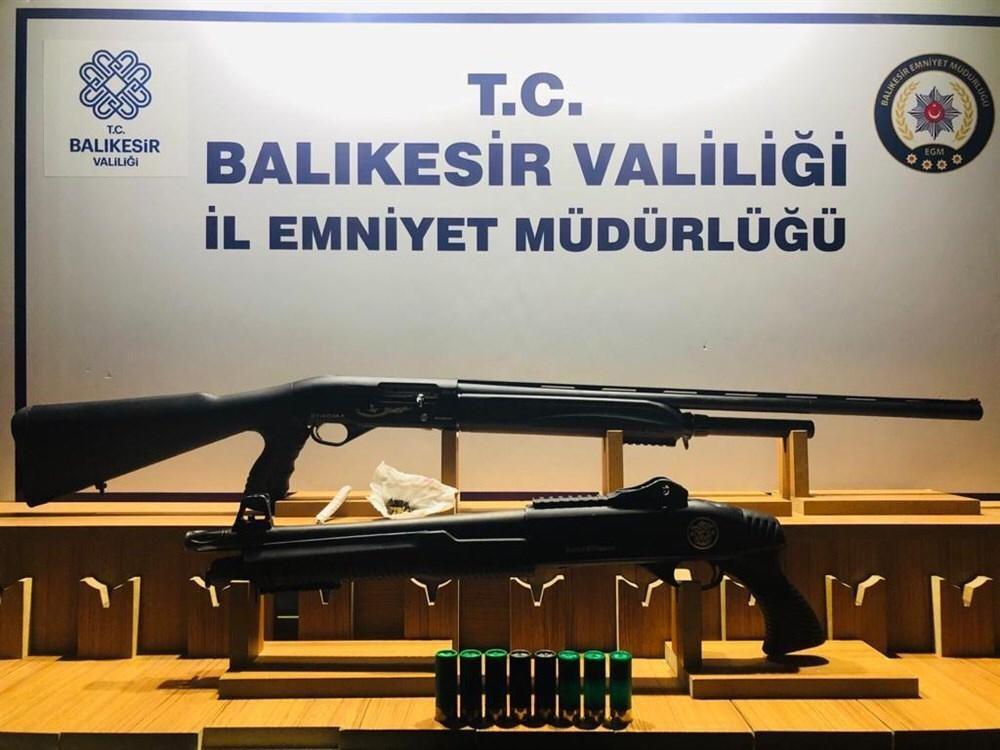 Balıkesir'de Polis Son 1 Haftada Yaptığı Huzur Operasyonlarında 149 Kişiye Gözaltı