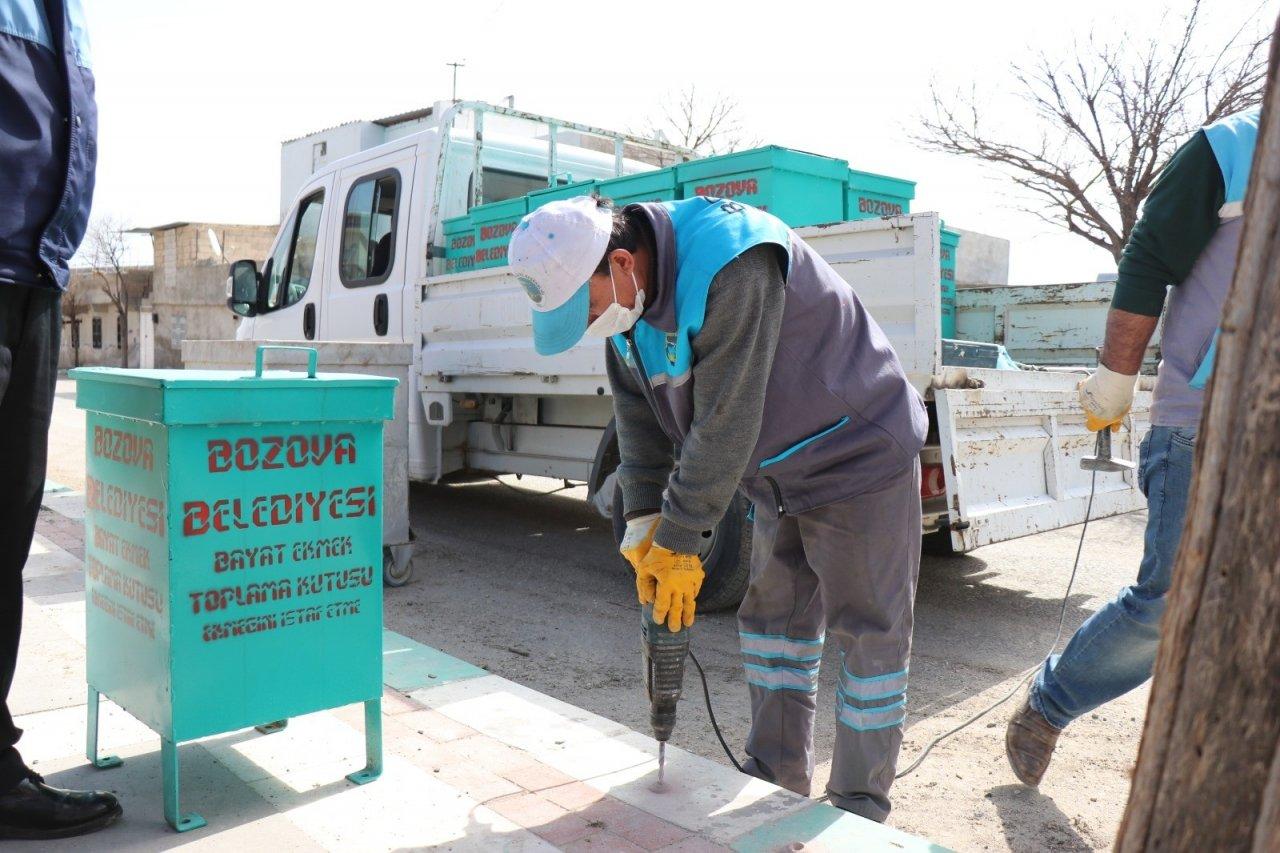 Bozova'da Sokak Hayvanlarına Hayat Ol Projesi