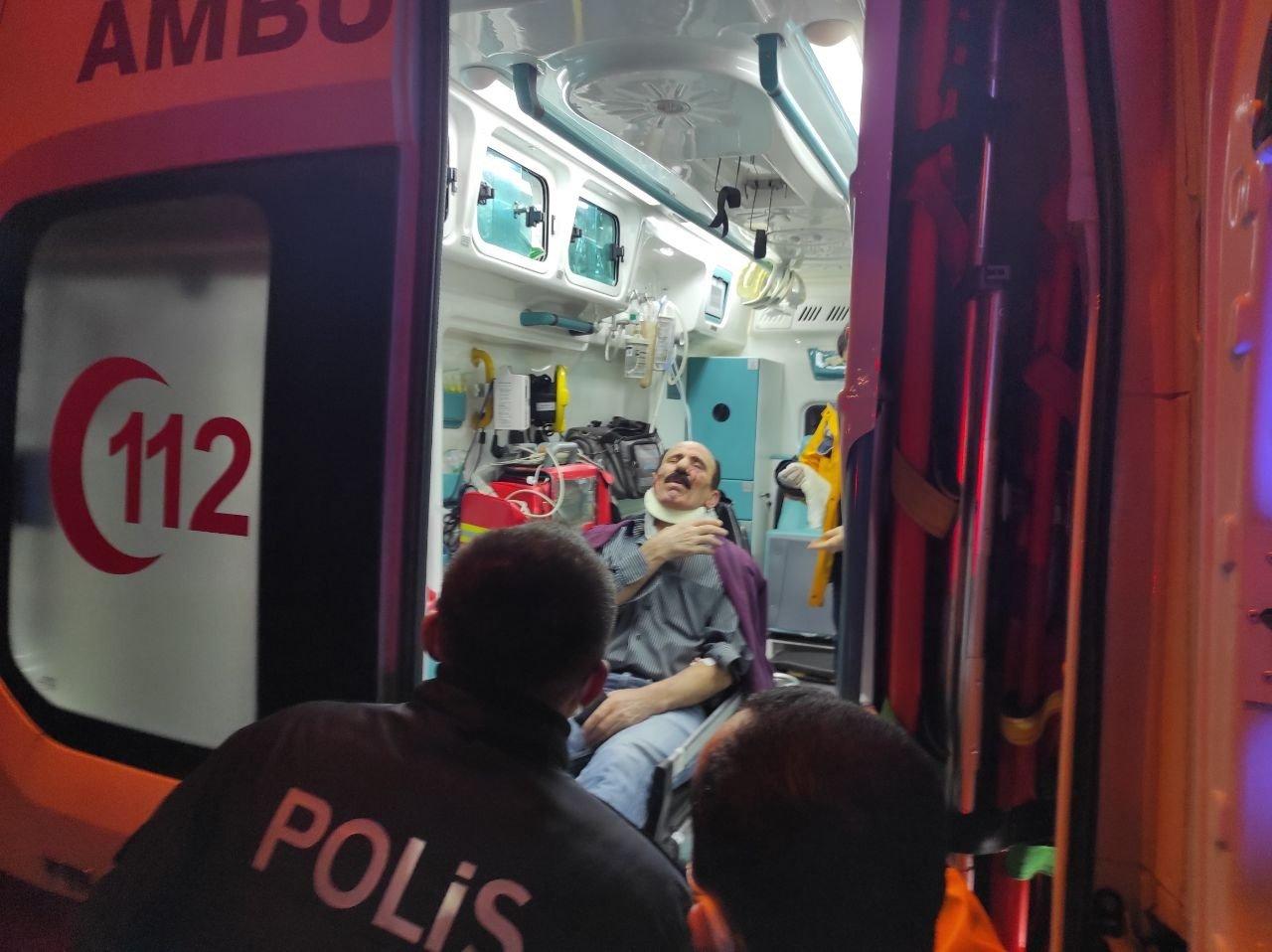 Bursa'da Trafik Kazasında Bir Kişi Yaralandı