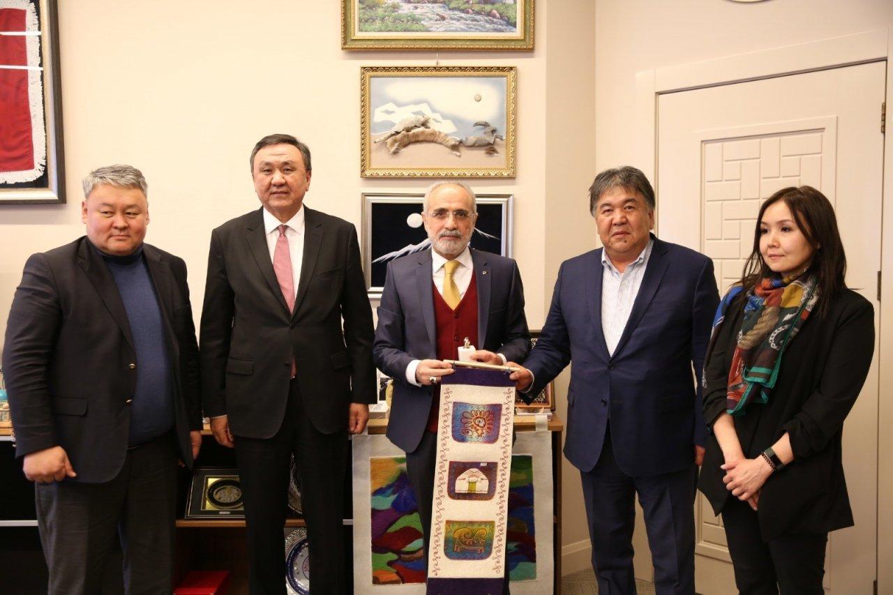 """Cumhurbaşkanı Başdanışmanı Topçu: """"türkiye-kırgızistan Stratejik Ortak, Kardeş İki Ülkedir"""""""