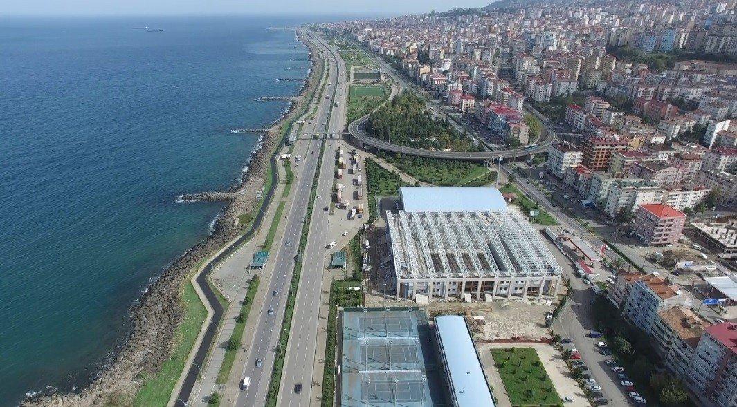Deniz Kenti Trabzon'un Sahilindeki 5 Yıllık Değişim